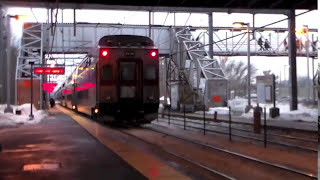 Railfanning South Attleboro Rush Hour With Amtrak ACS-64 Test Train 3.4.15