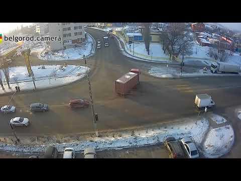 ДТП Корочанская - Серафимовича. Белгород. 21.02.2018 г.