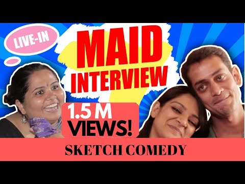 MAID VS. COUPLE | SUMUKHI SURESH | Kaneez Surka | Vamsidhar Bhogaraju | Maid Interview