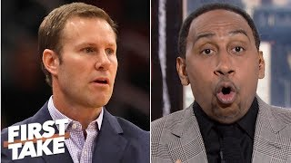 Stephen A.: Fred Hoiberg's coaching was an 'atrocity' vs. Klay Thompson, Warriors | First Take