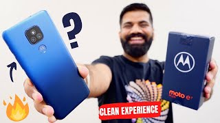 Moto E7 Plus Unboxing & First Look - A Clean Experience🔥🔥🔥