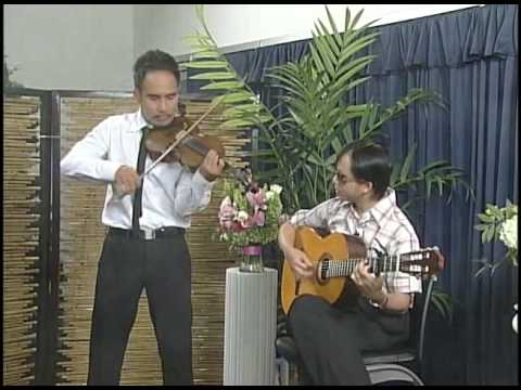 Phoi Pha Trinh Cong Son Guitar Nguyen Duc Dat  violin Luan Vu