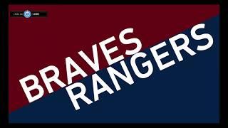 COFL Baseball Season III: Rangers @ Braves