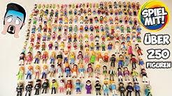 UNSERE PLAYMOBIL SAMMLUNG! Über 250 Figuren! Kaan zeigt alles! Familie Vogel + Playmobil City