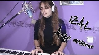 IZAL - Arte moderno | LIVE | Cover by Aries [subtitles]