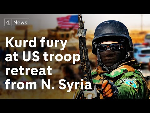 Syria: Kurds' fury as Trump orders US troop withdrawal