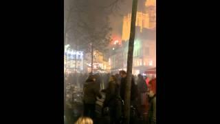 2013-12-07, Brand Da Giovanni tijdens WinterinA, Groenplaats Antwerpen