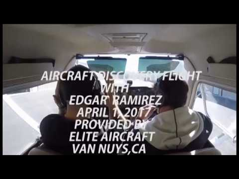 AIRPLANE DISCOVERY FLIGHT WITH EDGAR RAMIREZ ON APRIL 1, 2017
