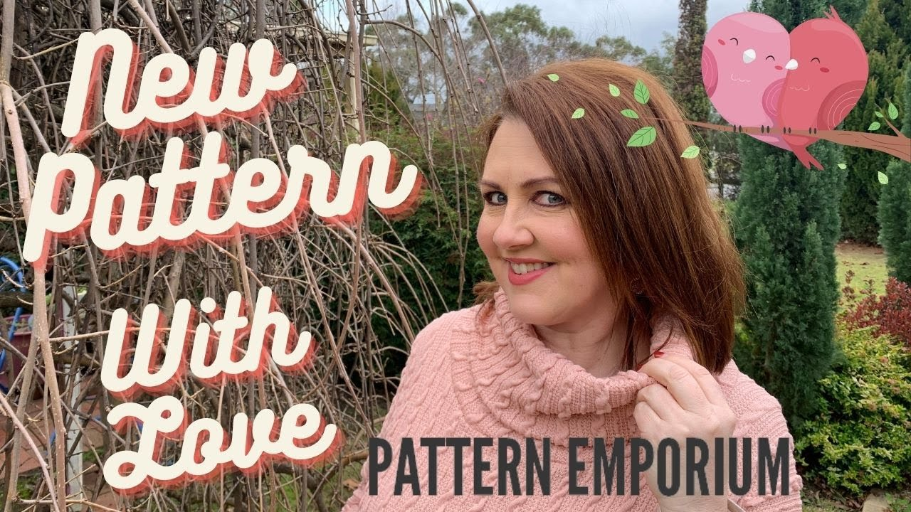 **NEW PATTERN LAUNCH**- With Love Poncho by Pattern Emporium