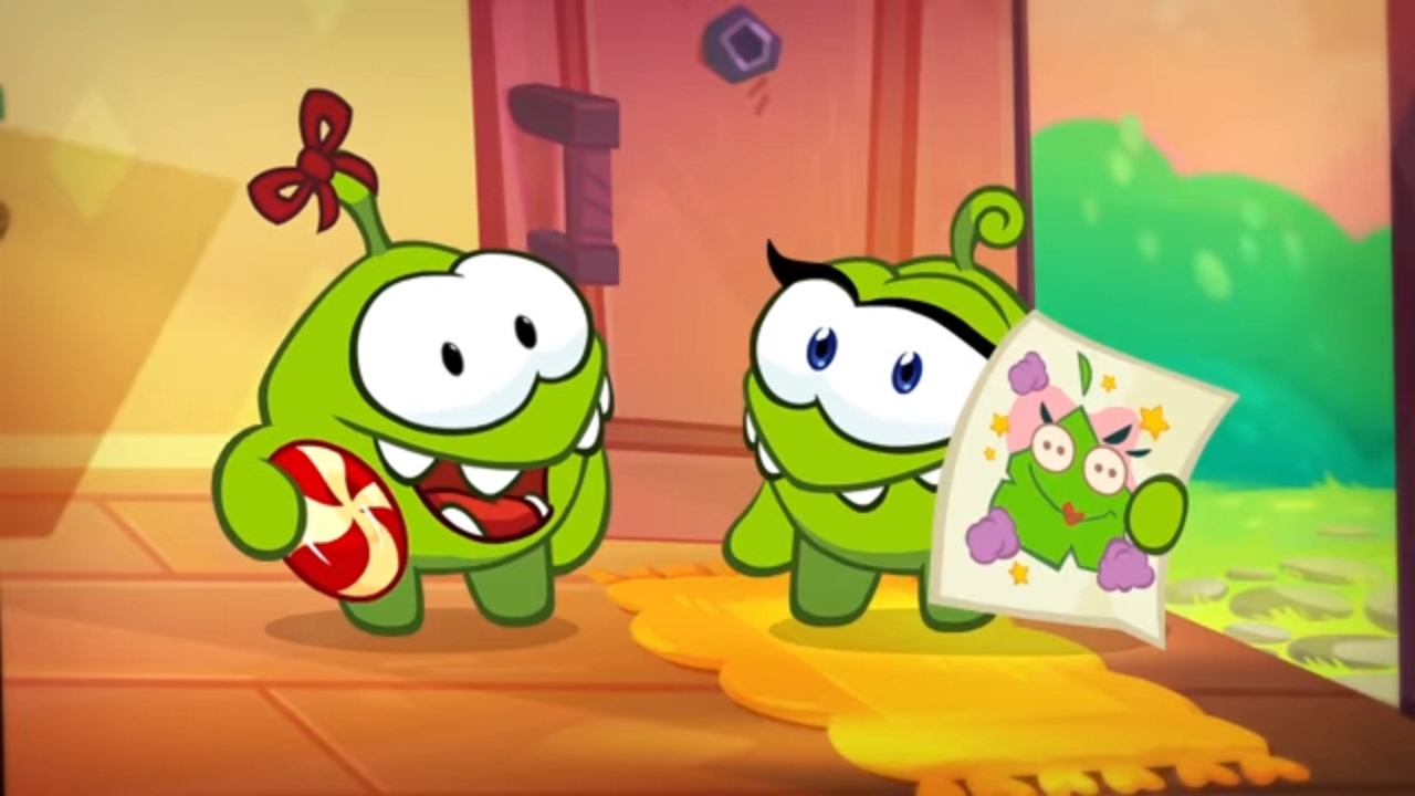 Om Nom Stories (Cut the Rope) - Video Blog - Scrapbooking 💓💓(St. Valentine's Special)