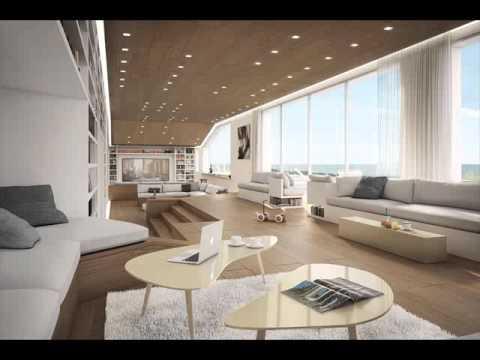 top desain interior rumah tanpa sekat ruang keluarga