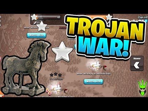 LAST MINUTE WAR ATTACKS! - Trojan War Event! -