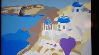 Draw Something - Greece / Santorini