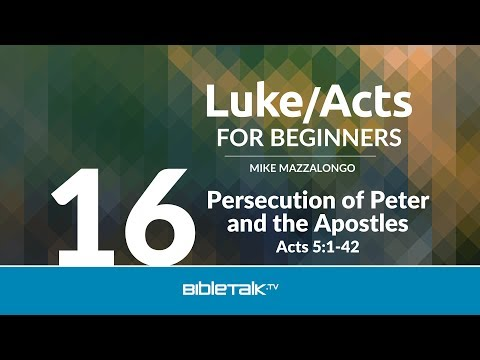 Persecution of Peter and Apostles