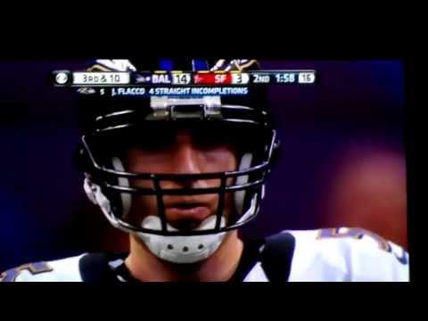 Jacoby Jones 56-Yard Touchdown Baltimore Ravens vs. San Francisco 49ers Superbowl XLVII 2/3/13