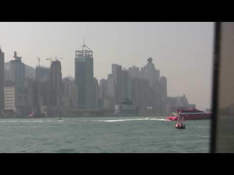Kowloon from Victoria Harbour - HD