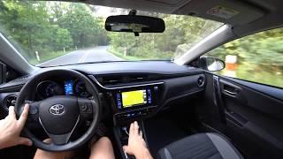 Toyota Auris 1.2 Turbo 85 kW / 116 HP 4K   Test Drive #009