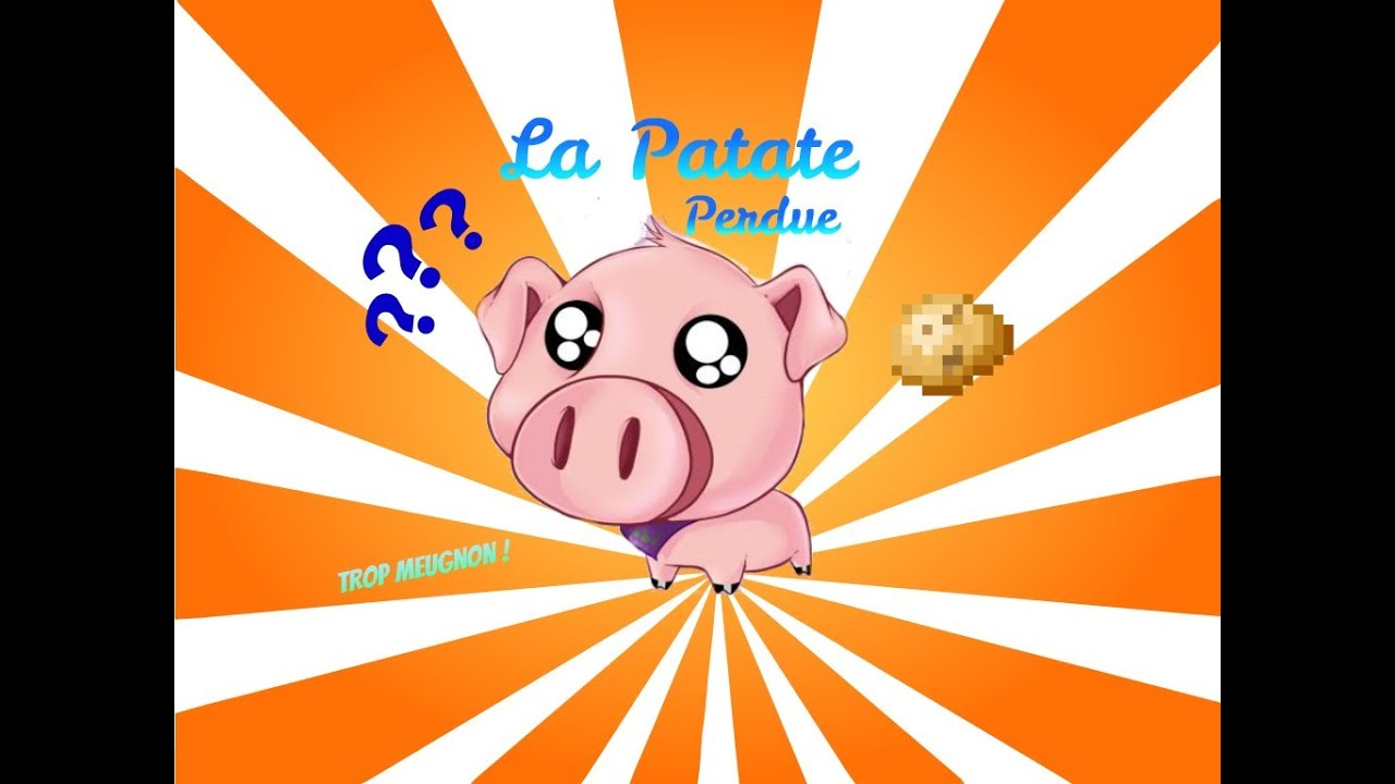 La patate perdue cochon mignon episode 1 minecraft youtube - Minecraft cochon ...