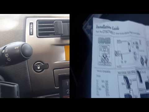 Vauxhall Corsa 2004-2006 KENWOOD coche C estéreo adaptador de interfaz de volante