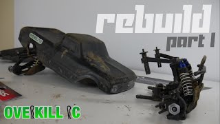 4s LiPo Traxxas Stampede 4x4 2019 REBUILD | Part 1 | Front & Rear End | Overkill RC