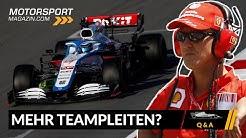 Drohen in der Formel 1 jetzt Teampleiten?