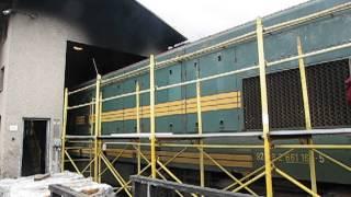 Preizkus moči lokomotive 661-164