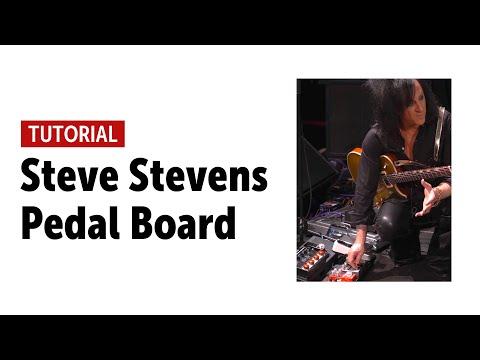 Steve Stevens - Pedal Board