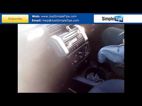 Radio Removal Land Rover Freelander (1997-Present) | JustAudioTips