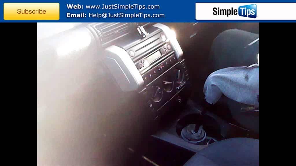 Radio Removal Land Rover Freelander 1997 Present Justaudiotips Youtube