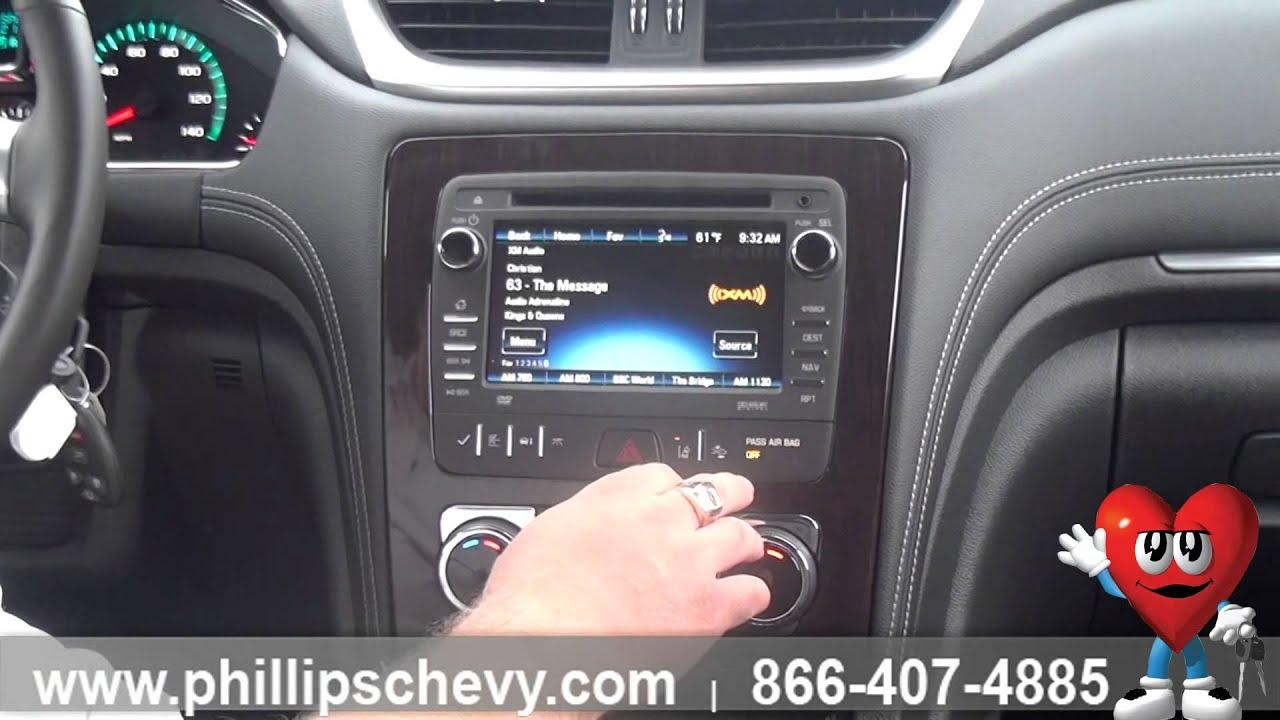 Genial Phillips Chevrolet   2016 Chevy Traverse LTZ   Interior Walkaround    Chicago New Car Dealership   YouTube