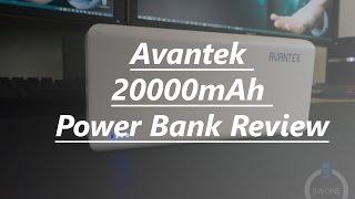 Avanteck 20000mAh External Power Bank Review