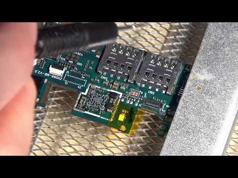 Неудачный ремонт FLY FS505. Замена КП MT6350V