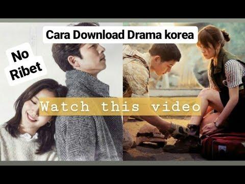Cara Download Drama Korea di Google