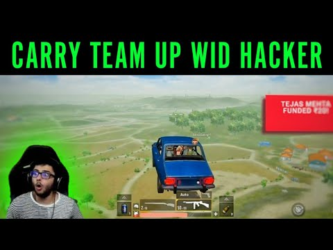 CARRY And HACKER In SAME TEAM | Carry Trolling Hacker | CarryisLive Stream |