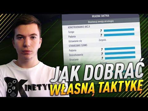 JAK DOBRAĆ WŁASNĄ TAKTYKĘ | FIFA 18 PORADNIK