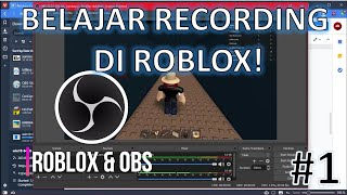 WEARING OBS STUDIO FOR ROBLOX (INDONESIA) #1