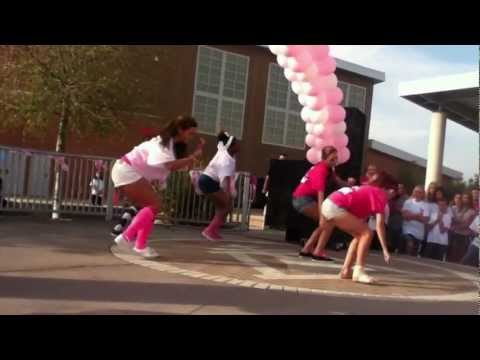 Frank Augustus Miller Middle School Dance team lyrical small group