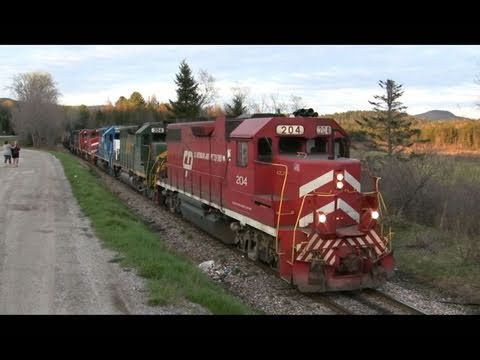 The Vermont Rail System: Chasing the GMRC 264 Through the Green Mountain Gateway