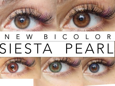 New SIESTA Pearl BICOLOR Review With Discount Code //Rose Léonie