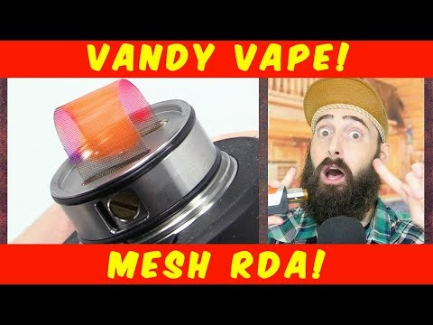 Vaping The Mesh RDA By Vandy Vape!