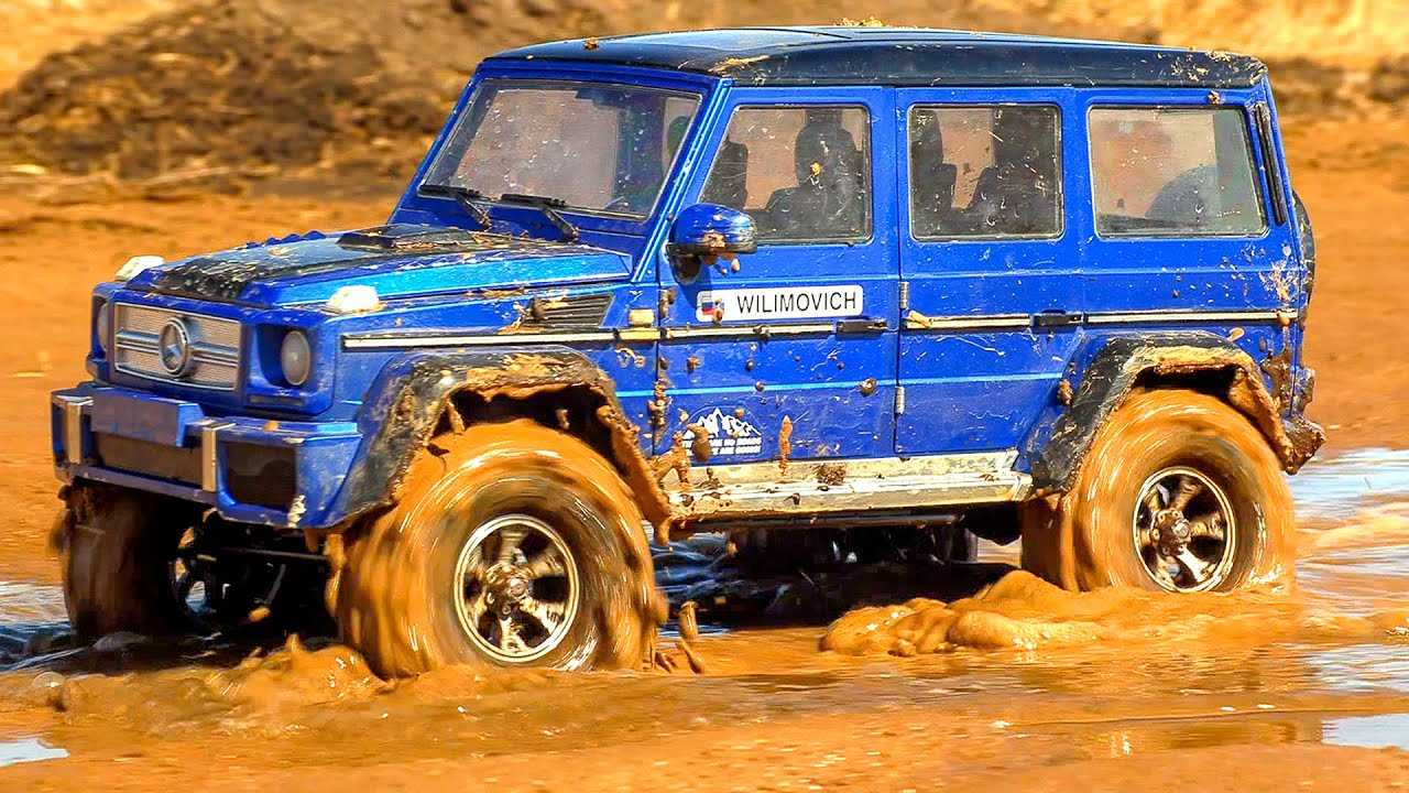Car MUD OFF Road Racing 4x4 - Mercedes G500, Toyota FJ Cruiser, Land Rover – Wilimovich