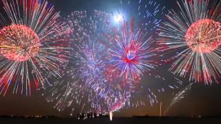 HAPPY NEW YEAR HÒA TẤU LỒNG GHÉP PHÁO HOA