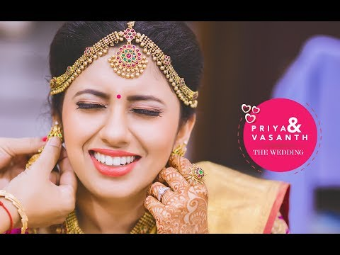 "Priya & Vasanth ""The big fat wedding"" Cinematic video."