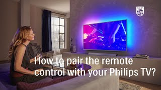 How to pair the remote control…