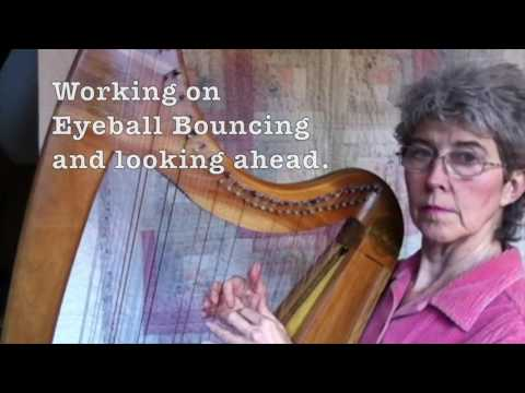 Double Strung Harp tutorial 16: Learning Water Faeries, watch my actual learning