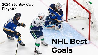 NHL Best Goals from the 2020 Stanley Cup Playoffs