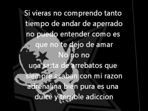 Amargo adios lyrics
