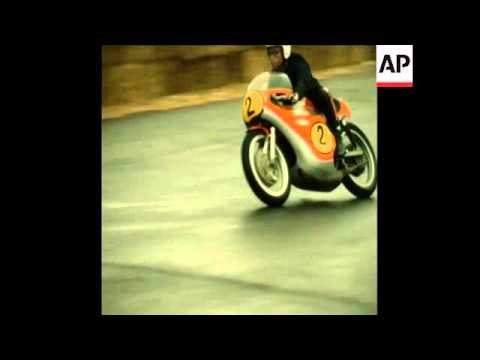 SYND 23/10/72 MOTORCYCLE GRAND PRIX AT RUNGIS, NEAR PARIS
