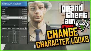 GTA 5 Online - How To Change Your Character Appearance! (GTA 5 Online Tricks)