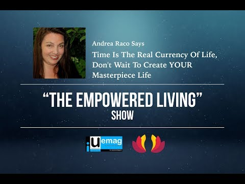Andrea Raco Talks About Time Being The Real Currency Of Life